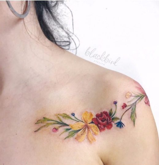 Flores silvestres por Luiza Oliveira