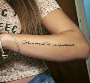 Frase: Cada momento es una oportunidad