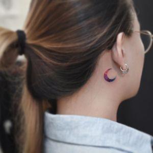 Luna por Tattooist Grain