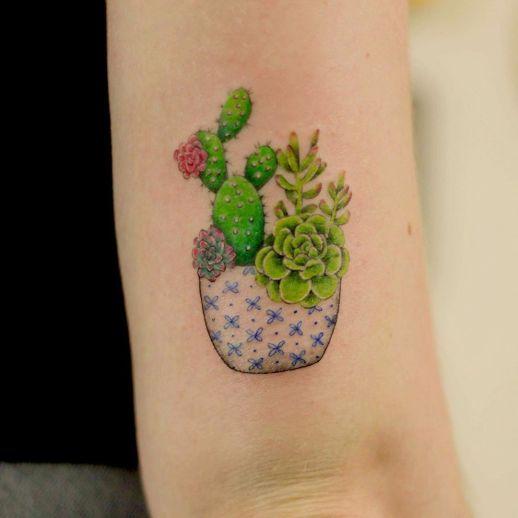 Cactus por Luciana Periard Art Efeito
