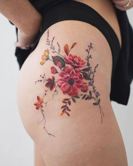 Flores silvestres por Rey Jasper