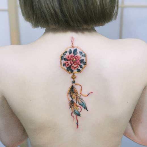 Atrapasueños por Tattooist Sion