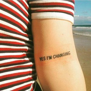 Frase: Yes, I´m changing