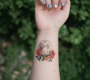Luna llena por Tattooist Sion