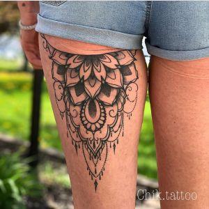 Mandala por Steve Savard, Chik Tattoo