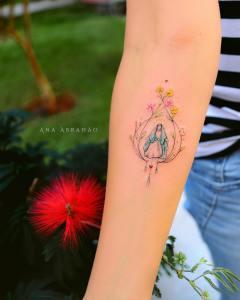 Virgen por Ana Abrahão