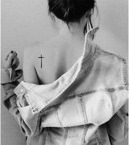 Cruz en el hombro
