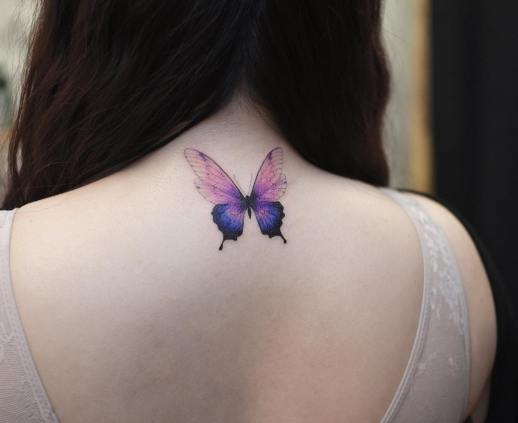 Mariposa por Tattooist Grain