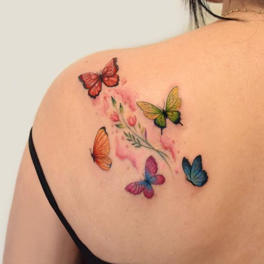 Mariposas por María Fernanda Ramírez