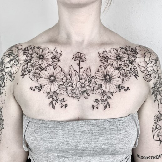 Enredadera de flores por Maret Brotkrumen