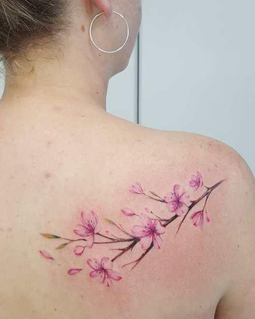 Flores de cerezo por Jacke Michaelsen