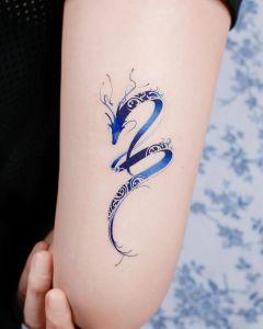 Dragón azul por Studio by Sol, E. Nal