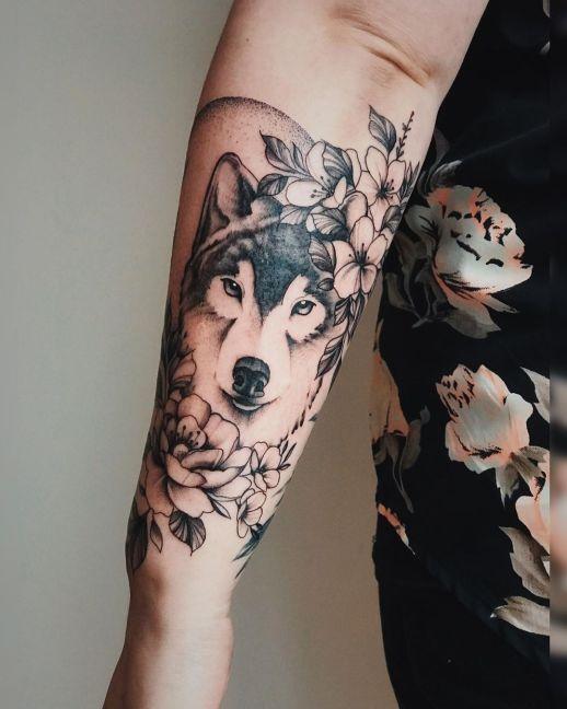 Lobo por Valery Tattoo