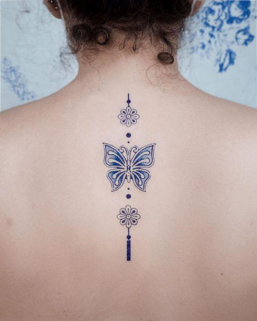 Mariposa amuleto protector por Studio by Sol, E. Nal