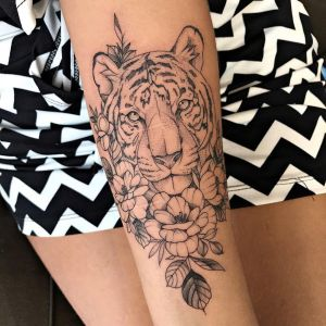 Tigre por Thony Tattoo