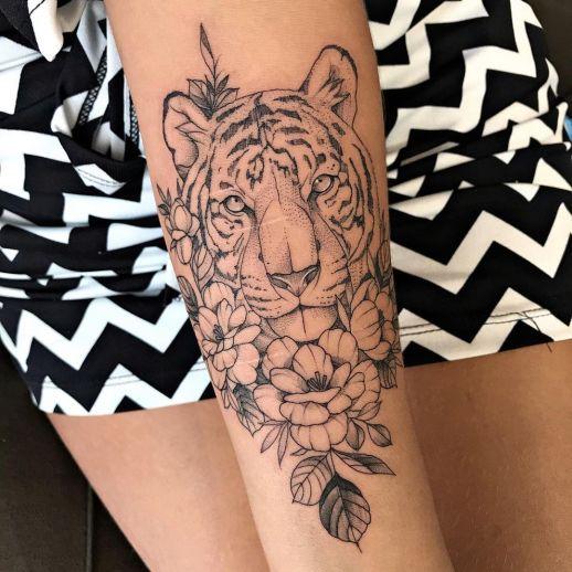 Tigre por Thony Tattoo