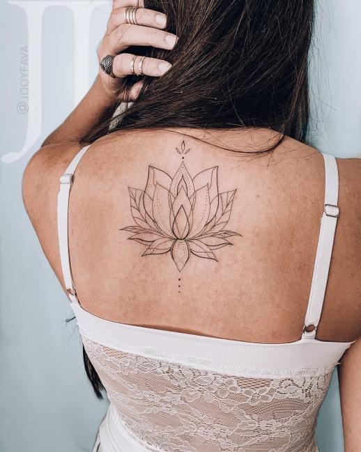 Flor de loto por Jooy Fava