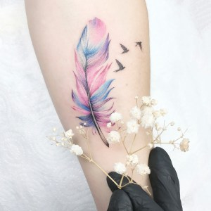 Pluma y Aves por Anna Botyk