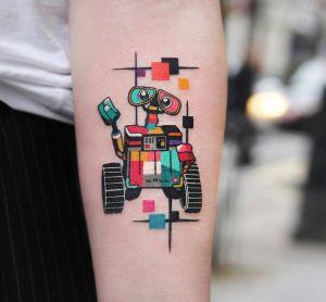 Wall-E por Polyc Sj