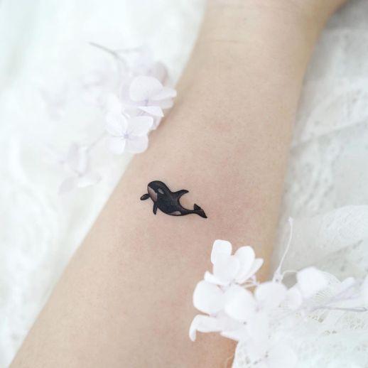 Ballena pequeña por Tattooist Dal