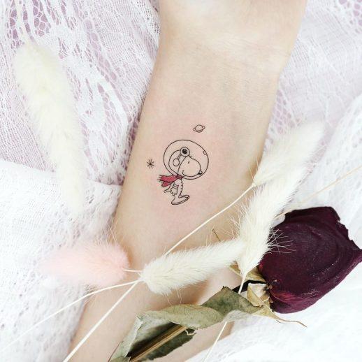 Snoopy Perro por Tattooist Dal