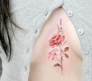 Flores por Tattooist Flower
