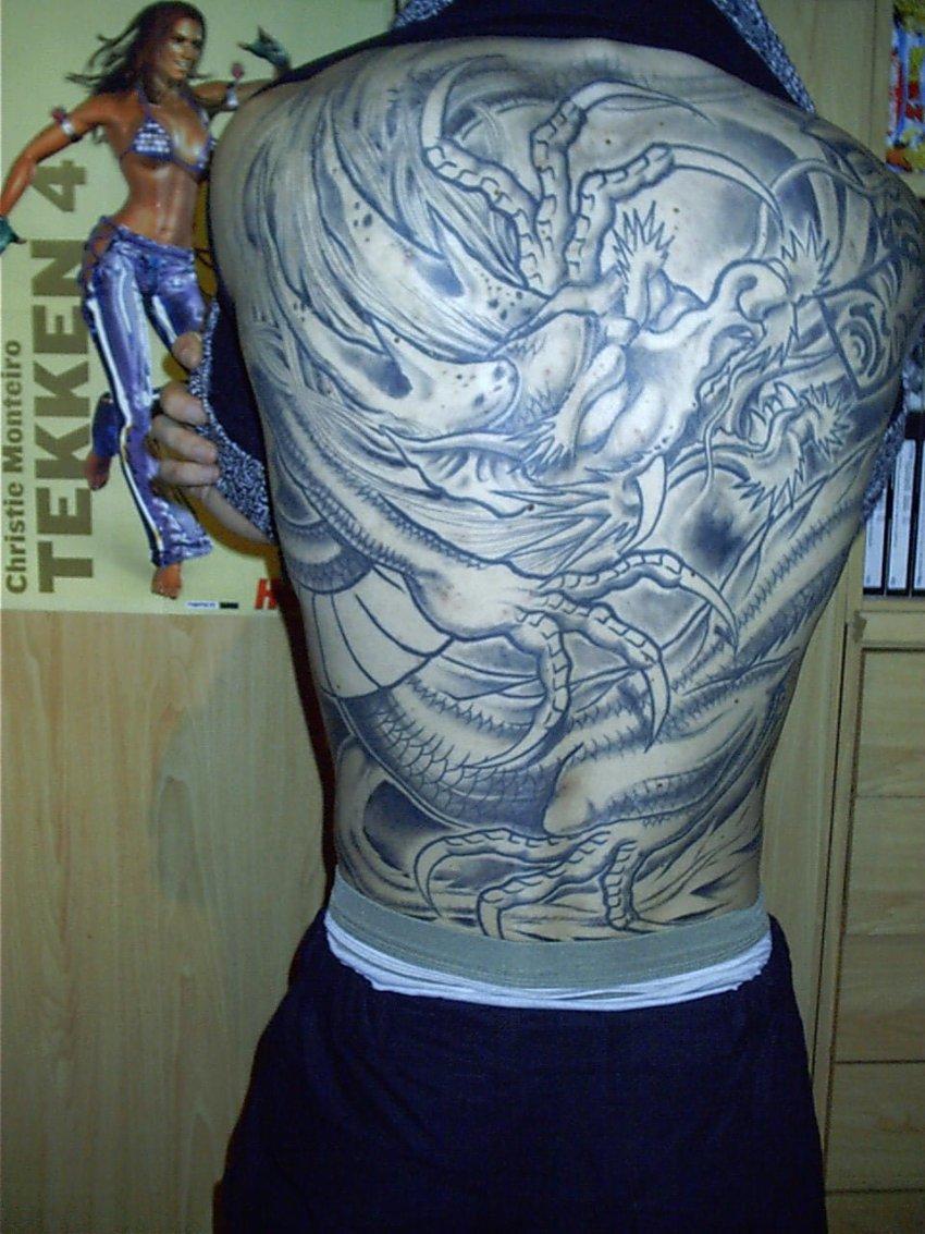 tatuaje dragon chino