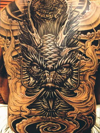 Tattoo Dragon Japonés