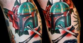 Bobba Fett tattoo