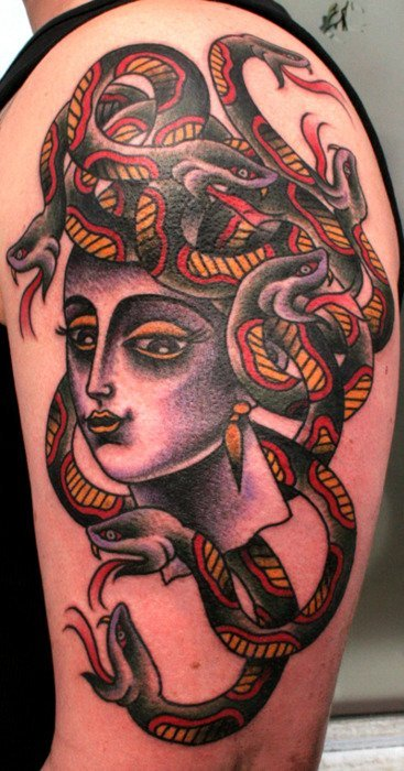 tattoo Medusa