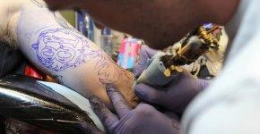 Máquina para tatuar