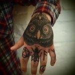 tatuaje buho