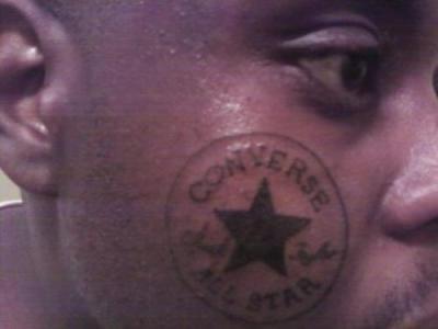 Fail tattoo face