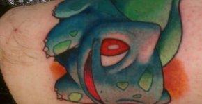 tatuaje bulbasaur