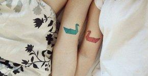 tattoo origami