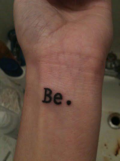 tatuaje Be.