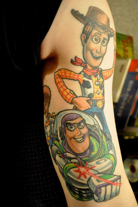 tattoo toy story