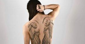 tattoo alas de angel