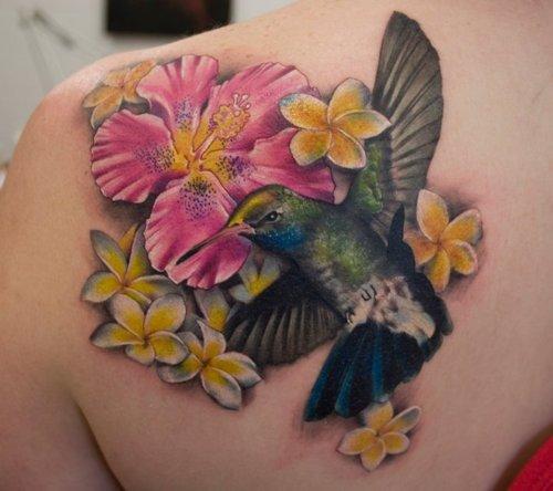 tatuaje colibri