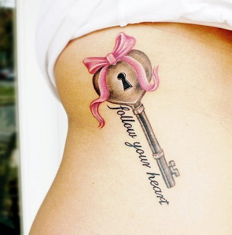 tatuaje llave
