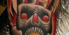 tatuaje robot