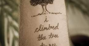 tree phrases tattoo