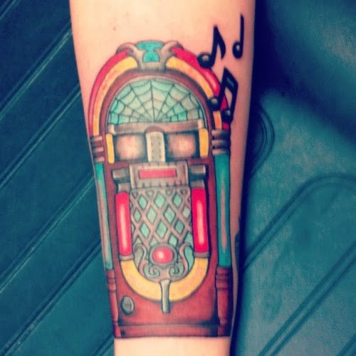 tatuaje rockola