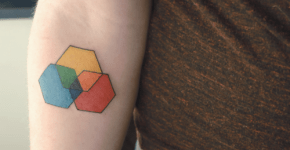 color scheme tattoo
