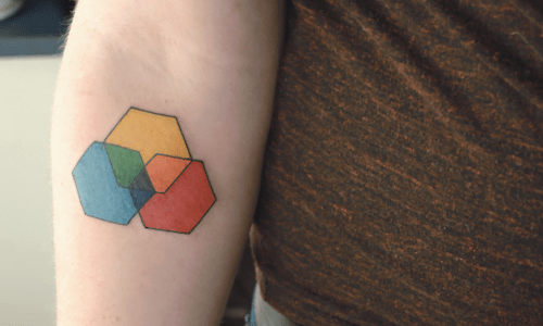color scheme tattoo