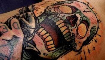 Tatuaje Del Número 7 Tatuajesxd