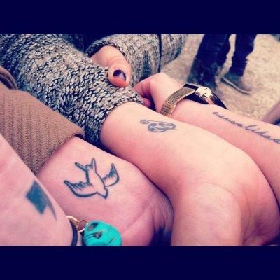 tattoos amigas