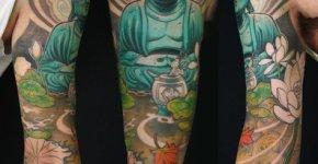 Tatuaje budismo