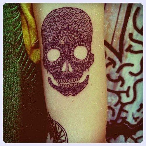 mexican skulls tattoos
