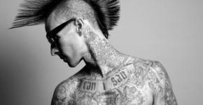 punk tattooed